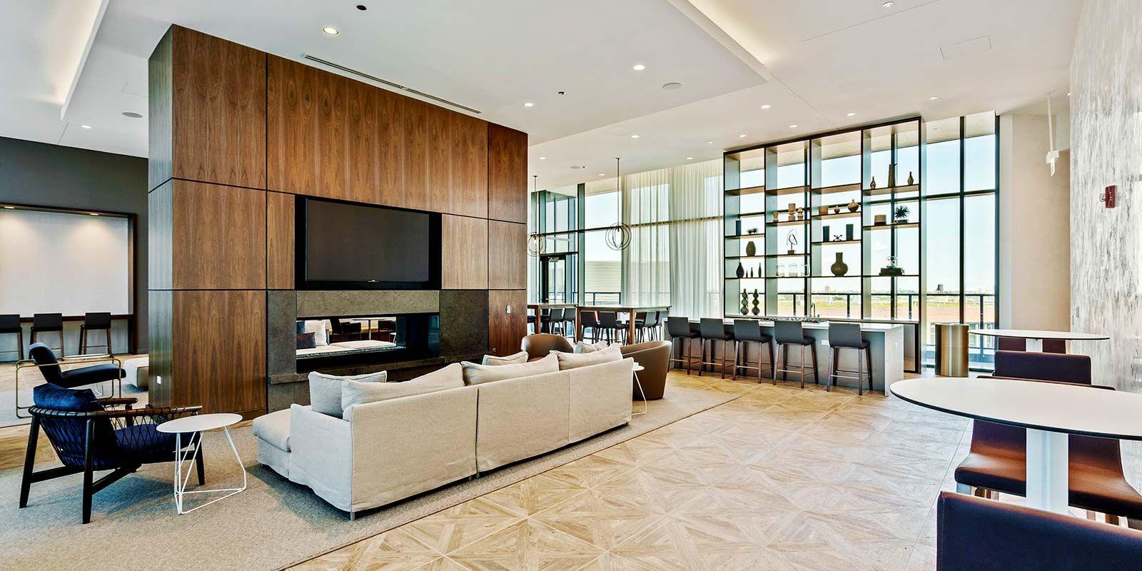 Top Floor Amenity Deck