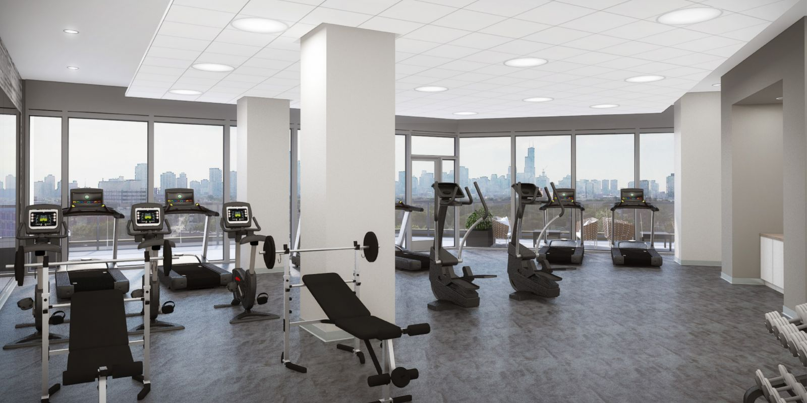 Elevate Lincoln Park 24-Hour Fitness Center