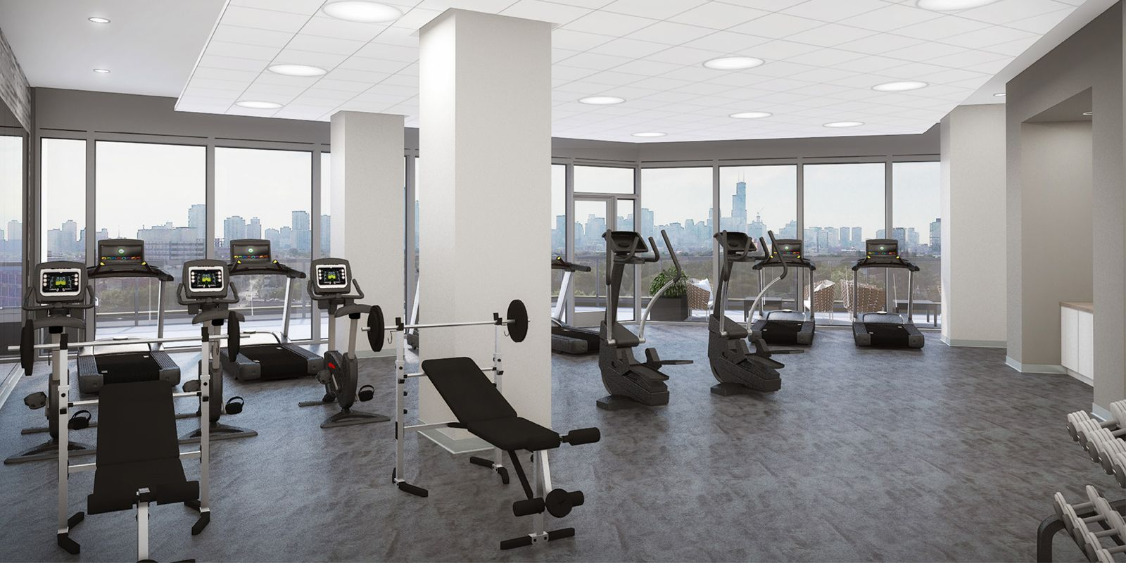 24-Hour Fitness Room