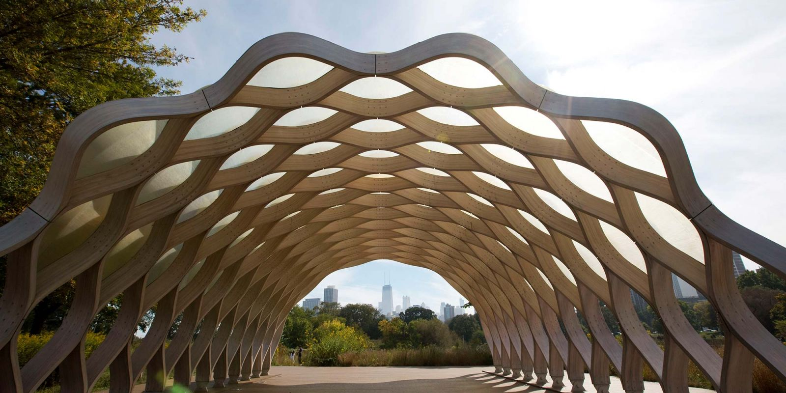 Wood Pavilion at Lincoln Park