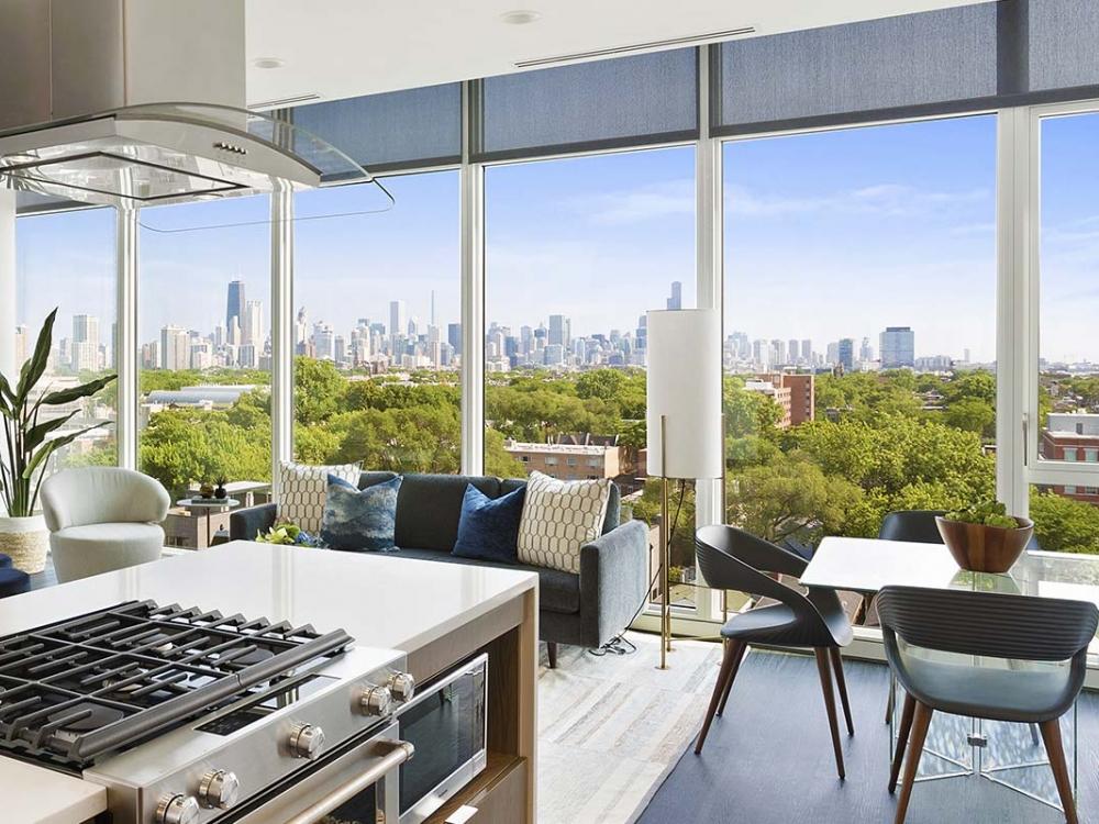 Penthouse Skyline Views