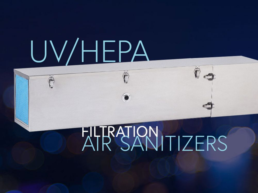 UV/HEPA Filtration Air Sanitizers